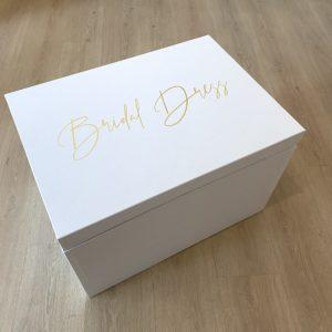 Unsere extra große Brautkleidbox